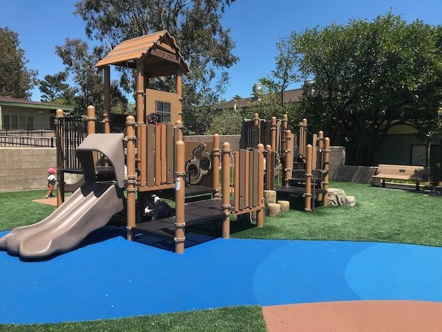 Christopher Playground play structure- best playground in san francisco