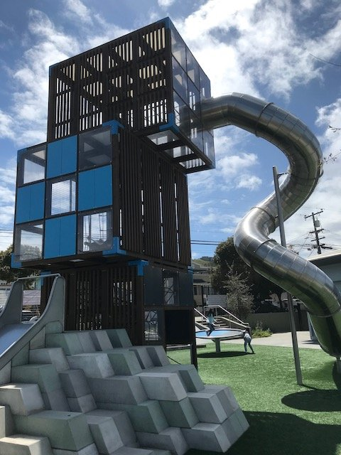 Playgrounds in San Francisco