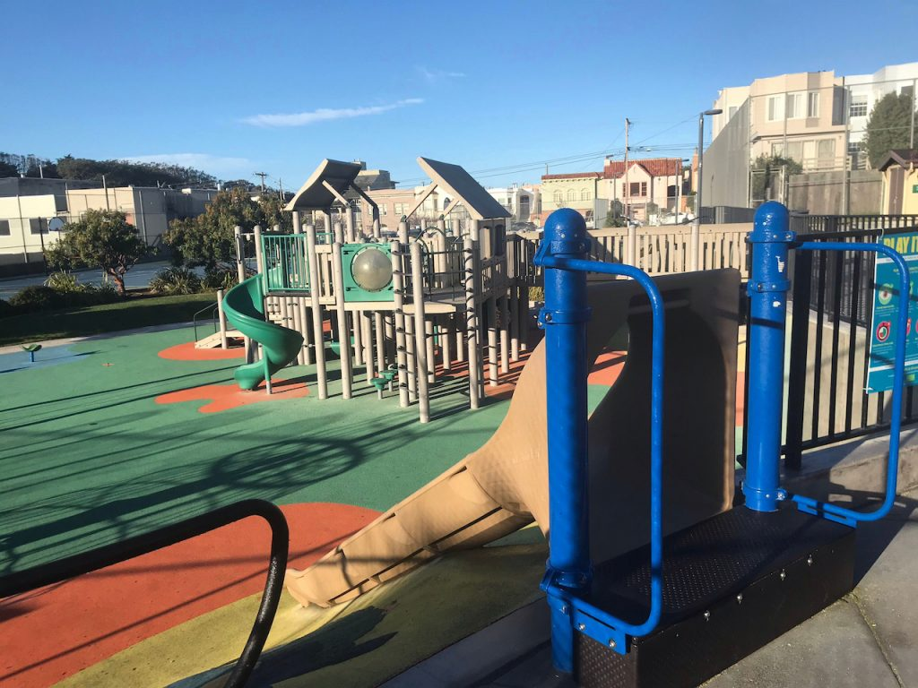 Cabrillo Playground Play Structure