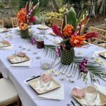 How to Plan An Elegant Tropical Themed Wedding Shower in 2021